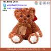 Noël de 12 pouces badine le jouet câlin de peluche d'ours de nounours de Brown foncé