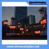 Écran polychrome extérieur d'Afficheur LED pour la publicité avec le panneau en aluminium (pH10 960mm*960mm)