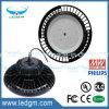 UL Dlc FCC 세륨 EMC LVD RoHS 산업 대화구 UFO LED 높은 만 빛 IP67 Meanwell 운전사 240W 200W 150W Dimmable UFO LED 램프