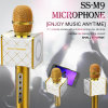 Plates-formes sans fil de support de haut-parleur stéréo de microphone de Bluetooth de microphone magique de karaoke avec le clip de téléphone mobile