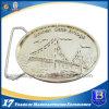 Inarcamento di cinghia d'argento lucido di placcatura di modo su ordinazione (Ele-BB004)