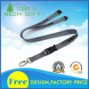 Personalizado de moda de poliéster plano material de impresión de pantalla cordón con la seguridad de ruptura hebilla