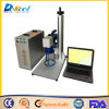 Миниая машина отметки лазера волокна 30W для цены металла неметалла