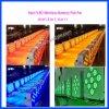 LED-drahtloses Batterie Romote NENNWERT 9*10W Stadium/Hochzeits-Beleuchtung