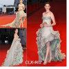 Сказовое конструированное платье вечера (CLX-902)