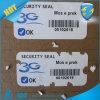 Etiqueta ultra destrutível do rolo do vinil, etiqueta ultra adesiva do papel da etiqueta de Egshell, auto papel de Destructiive