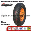 Pneumatische Gummischubkarre-Gummirad (4.80/4.00-8)
