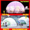 明確な透過白PVC中国製測地線ドームのテントFastup
