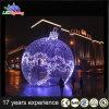 Esfera ao ar livre do gigante do diodo emissor de luz da luz da decoração do feriado do Natal da classe comercial