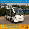 Chinees van Weg 8 Zetels sloot de Elektrische Auto van de Pendel voor Sightseeing met Ce- Certificaat in