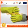 Ddsafety 2017 Blumen-Gartenarbeit-Handschuh mit Kurbelgehäuse-Belüftung punktierte auf Palme
