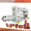 空の多孔性の煉瓦のための2ステージの分割粘土の煉瓦機械