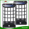 Illuminazione solare esterna del giardino di movimento del sensore della rete fissa dell'indicatore luminoso decorativo della parete