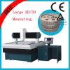 Работая точность большого расстояния высокая работая машина CNC видео- измеряя