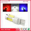 MAZORCA blanca ambarina 11W 7443 del rojo azul 7440 bulbos de T20 7444na LED para los bulbos del coche LED para las luces de señal delanteras de vuelta, luces corrientes diurnas (T20 7443 7440, amarillo)