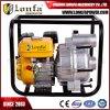Pompe d'évacuation des eaux usées de pompe à eau de détritus d'engine d'essence de 3 pouces