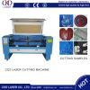 Machine de spéléologie de découpage de machine de gravure de laser de CO2 de textile