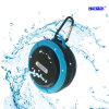 Mini altavoz sin hilos portable impermeable fijable redondo de Bluetooth