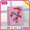 Sacs en papier de cadeau de café de système de gâteau de chocolat d'amour du jour de Valentine