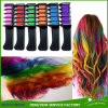 Escova Washable do aplicador do giz do cabelo do pente provisório da cor do cabelo para a tintura de cabelo