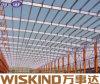 Estructura de acero del marco del precio competitivo con el panel de emparedado del poliuretano