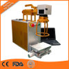 máquinas portables de la marca del laser de la fibra de 30W 20W para la etiqueta de plástico del laser de la fibra del metal