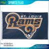St Louis imprimé par polyester enfonce le drapeau du logo 3X5'd'équipe de football de NFL