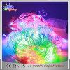Indicatori luminosi impermeabili della stringa del collegare LED del PVC della decorazione di natale di RGB