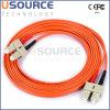 Duplex 50/125 de Sc-Sc millimètre de câble de pièce rapportée