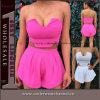 Haut de page et de shorts Backless femmes Pant Jumpsuit Body Romper (KF8093)