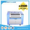 precio plástico de madera de la máquina de grabado del laser del caucho de 40W 50W 60W