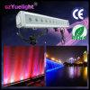 段階を飾るための12PCS 3W LEDの滝の壁の洗濯機ライト