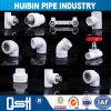 Producto de plástico flexible PVC / PPR / HDPE Tubería de agua y el adaptador de tubería