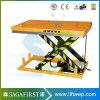 1 la tonne à 5 tonne de tables de levage du vérin hydraulique électrique pour les palettes