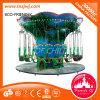 Les gosses joyeux va matériel de parc d'attractions de carrousel de rond