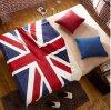 Van het Britse van de Vacht van het Koraal van de Polyester van 100% de Deken van de Baby Ontwerp van de Vlag