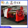Machine de plaque du rouleau W12S-6X2500 4 de dépliement en acier et de roulement