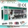Máquina de la bandeja del huevo/cadena de producción de la bandeja del cartón/de la fruta del huevo con el papel usado 6000PCS/hora