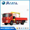 12 la tonne Jib montés sur camion grue mobile avec la flèche télescopique