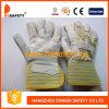 Производство зерна кожаные рабочие перчатки DLP571