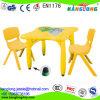 Plastiktisch-u. Stuhl-Kind-pädagogische Spielwaren-kleine Stühle für Kinder