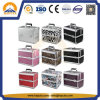 Estojo de beleza especializado caseiro portátil Case de alumínio (HB-3166)