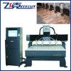 Máquina de gravura lisa do CNC com a linha central 4 giratória