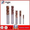 4 flautas HRC55 Carboneto sólido fresa