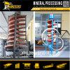 Pequeño Laboratorio de análisis de muestras de mineral de máquinas para análisis de minerales espiral separador