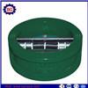 Tipo duplo válvula da borboleta da placa do preço de fábrica de verificação da bolacha