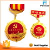 Qualität Offiicial Gold überzogenes weiches Emaille-Medaillen-Abzeichen