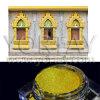 Pigmento solar del oro, polvo nacarado de Crafts&Windows