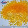 El gel de silicona anaranjado con cobalto libera