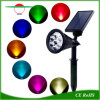 7 ZonneLicht van de LEIDENE het ZonneSchijnwerper van het Gazon Lichte Zonne